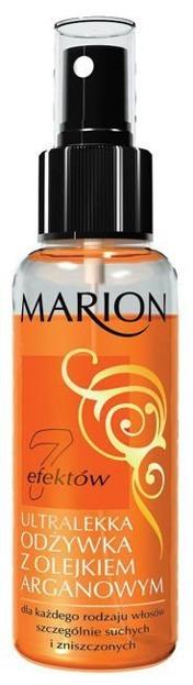 Marion 7 efektów - Ultralekka odżywka do włosów z olejkiem arganowym, 120 ml