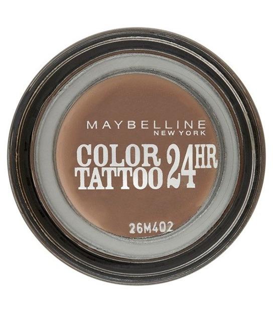 Maybelline Color Tatoo Metal 24HR - Cień do powiek w kremie 98 Creamy Beige 4 ml