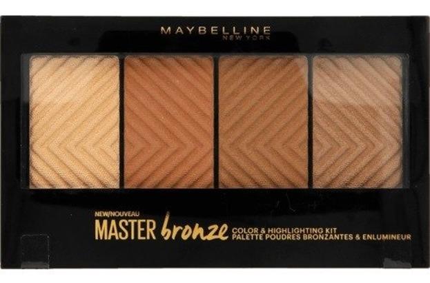 Maybelline Master Bronze Palette Paleta bronzerów i rozświetlaczy