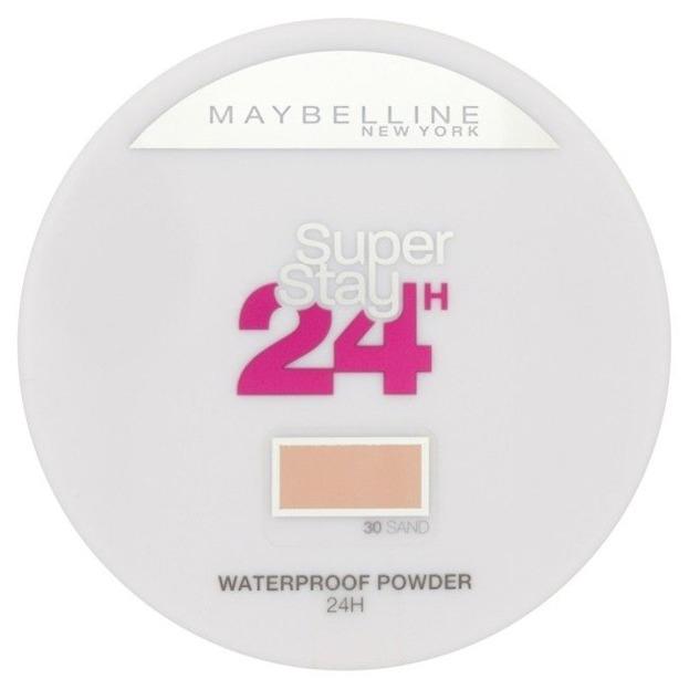 Maybelline SuperStay 24H Wodoodporny puder do twarzy 030 Sand