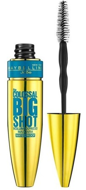 Maybelline The Colossal Big Shot Mascara Waterproof Wodoodporny tusz do rzęs nadający objętości Czarny 10 ml