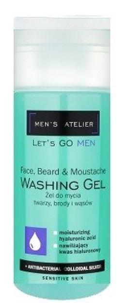Men's Atelier Żel do mycia twarzy, brody i wąsów 150ml