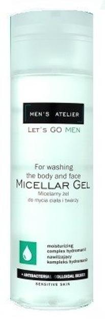 Men's Atelier Żel micelarny do mycia twarzy i ciała 200ml