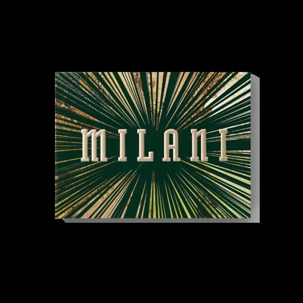 Milani GILDED JADE Eye&Face Palette Paletka do makijażu