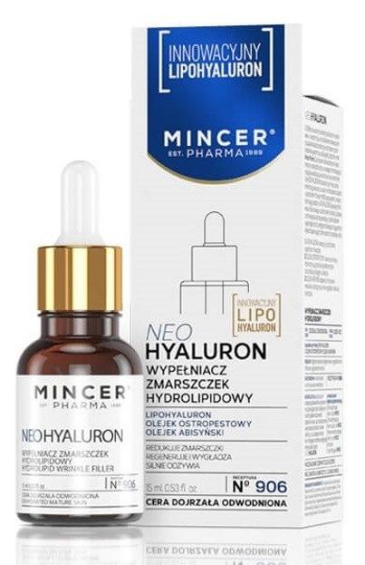 Mincer Pharma Neo Hyaluron Wypełniacz zmarszczek hydrolipidowy N906 15ml