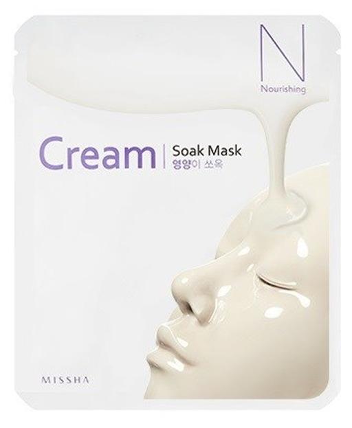 Missha Cream Soak Mask Nourishing Odżywcza maska w płachcie