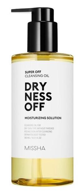 Missha Super Off Cleansing Oil Dryness Off Olejek do demakijażu 305ml