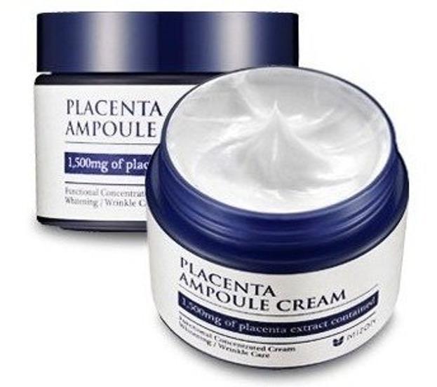 Mizon Placenta Ampoule Cream - Nawilżający krem do twarzy 50 ml