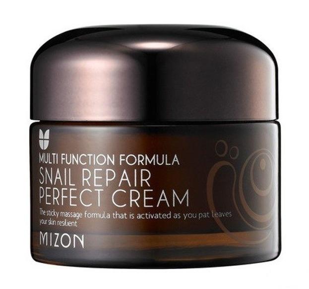 Mizon Snail Repair Perfect Cream - Regenerujący krem do twarzy z zawartością śluzu ślimaka 50ml