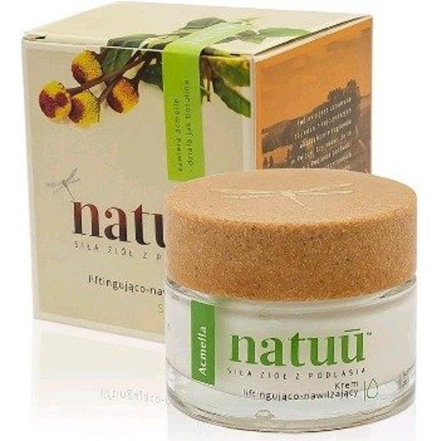 NATUU krem liftingująco-nawilżający z ekstraktem z acmelli