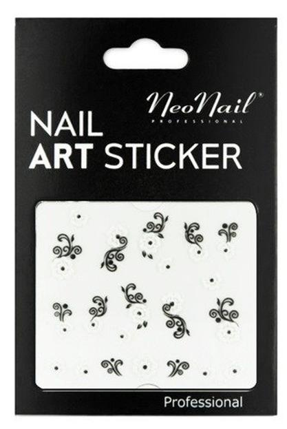 NEONAIL Naklejki na paznokcie Black&white 2804-01