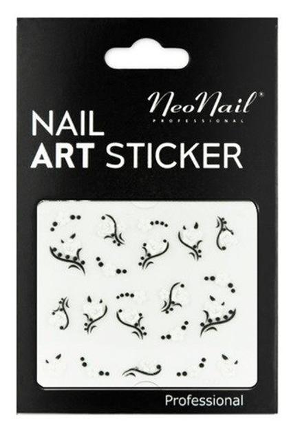NEONAIL Naklejki na paznokcie Black&white  2804-24