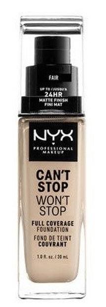 NYX Can't Stop Won't Stop Długotrwały podkład kryjący 01,5 Fair 30ml