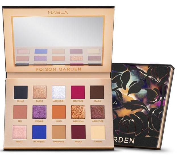 Nabla Poison Garden Eyeshadow Palette Paleta cieni