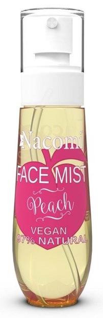 Nacomi Face Mist Peach Mgiełka do ciała i twarzy Brzoskwinia 80ml