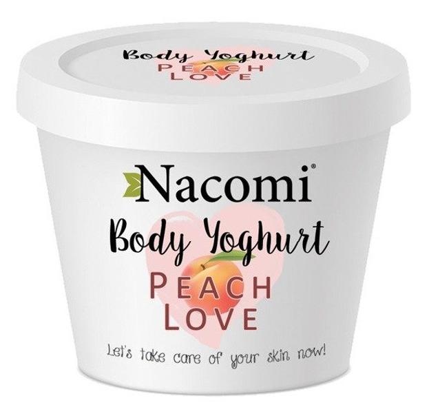 Nacomi Jogurt do ciała o zapachu soczystej brzoskiwni 180ml