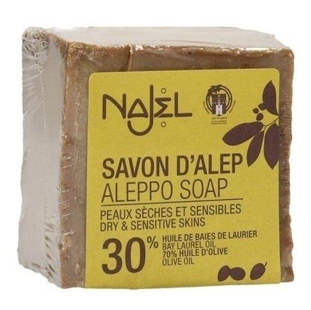Najel Mydło Aleppo oliwkowo - laurowe 30% 170g