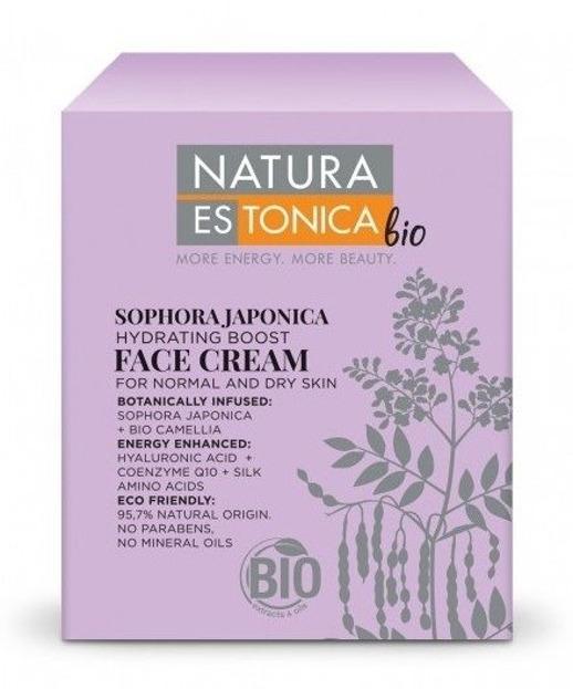 Natura Estonica Sophora Japonica  - Nawilżający krem do twarzy 50ml