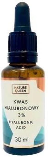 Nature Queen Kwas Hialuronowy 3% pipeta 30ml