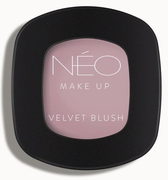 Neo Make Up Velvet blush Róż prasowany 01