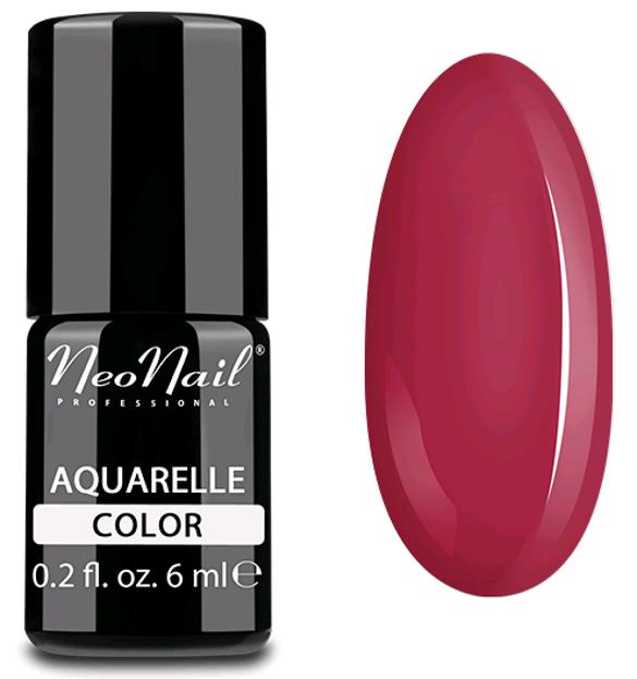 NeoNail Aquarelle Lakier 5754 - Cherry Aquarelle - Lakier hybrydowy do paznokci o akwarelowym wykończeniu