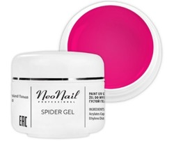 Neonail  Spider Gel Żel do zdobień Neon Pink 5ml