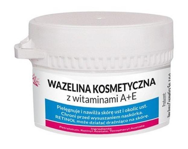 New ANNA Wazelina kosmetyczna z witaminami A+E 50g