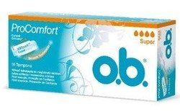 O.B. Pro Comfort Tampony Super 16szt