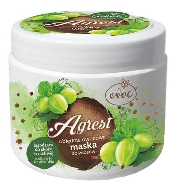 OVOC Maska łagodząca do skóry wrażliwej Agrest 500ml