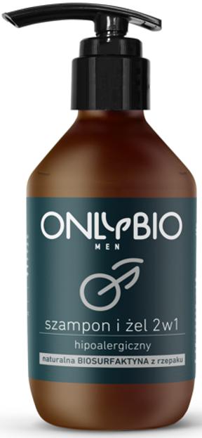 Onlybio Men Szampon i żel 2w1 hipoalergiczny 250ml