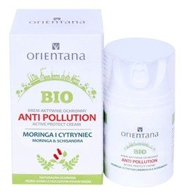 Orientana Bio Krem ochronny antysmogowy 50ml