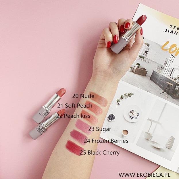 PAESE NanoRevit Satin Lipstick Satynowa pomadka do ust 20 Nude 4,3g