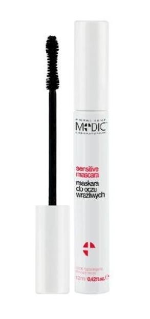 Pierre Rene Medic Sensitive Mascara - Tusz do oczu wrażliwych Czarny, 12 ml