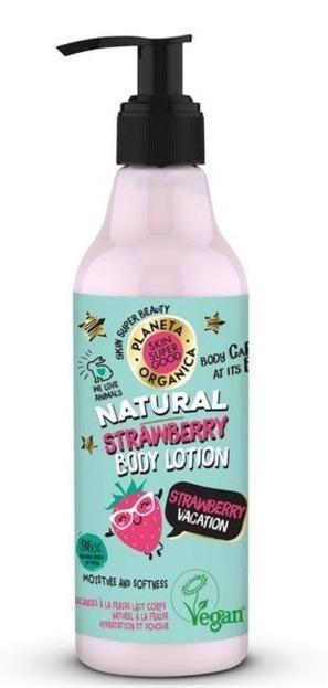 Planeta Organica Skin Super Good balsam do ciała Truskawka 250ml