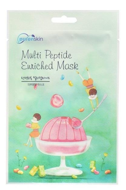 PurenSkin Multi Peptide Enriched Mask Naprawcza maska w płachcie 23g
