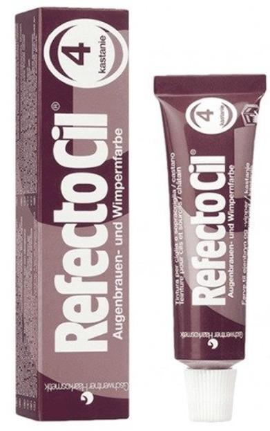 Refectocil tint Pasta barwiąca do brwi i rzęs Chesntnut 4 15 ml