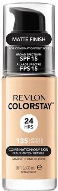Revlon Colorstay 24Hrs Podkład Z POMPKĄ do cery tłustej i mieszanej 135 Vanilla 30ml