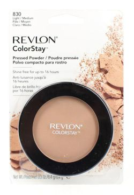 Revlon Colorstay Pressed Powder- Puder prasowany Kolor 830 Light/ Medium