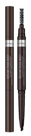 Rimmel Brow This Way Kredka do brwi 003 Dark
