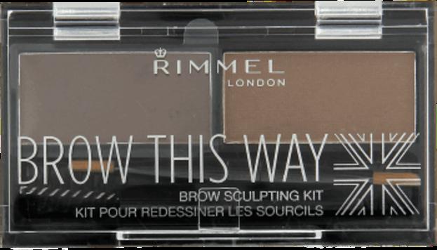 Rimmel Brow This Way Paletka do brwi 002 Medium