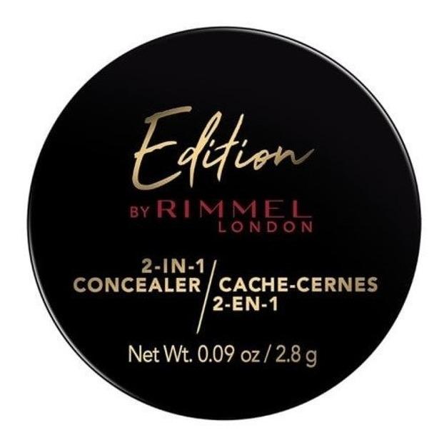 Rimmel Edition 2in1 Concealer Korektor i puder utrwalający 140 medium 2,8g