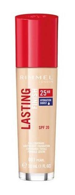 Rimmel Lasting Finish 25h Długotrwały podkład do twarzy 001 30ml