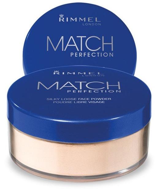 Rimmel Match Perfection Loose Powder -  Sypki puder do twarzy 001 Transparent 10g