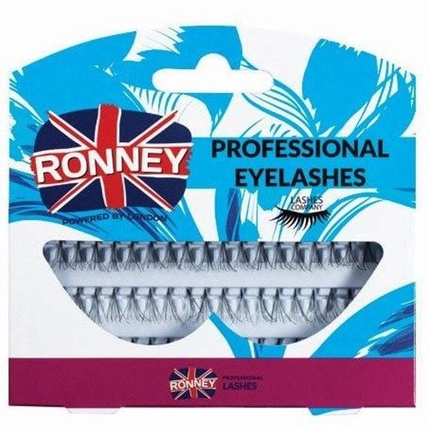 Ronney Professional Eyelashes Kępki sztucznych rzęs bez węzełka 60 szt. RL 00037