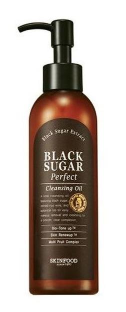 SKINFOOD Black Sugar perfect cleansing oil Olejek do demakijażu 200ml