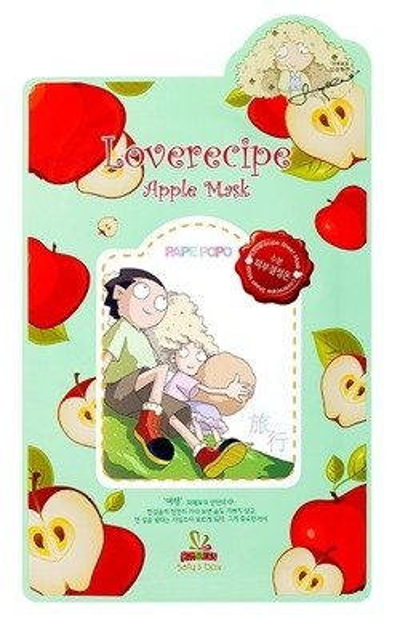 Sallys Box Loverecipe Apple Mask Celulozowa maseczka w płachcie 20ml