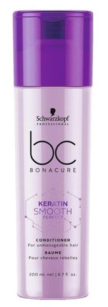 Schwarzkopf BC Keratin Smooth Micellar Conditioner Keratynowa odżywka do włosów 200ml