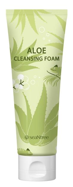 SeaNtree Aloe Oil Cleansing Foam Pianka do mycia twarzy 120ml