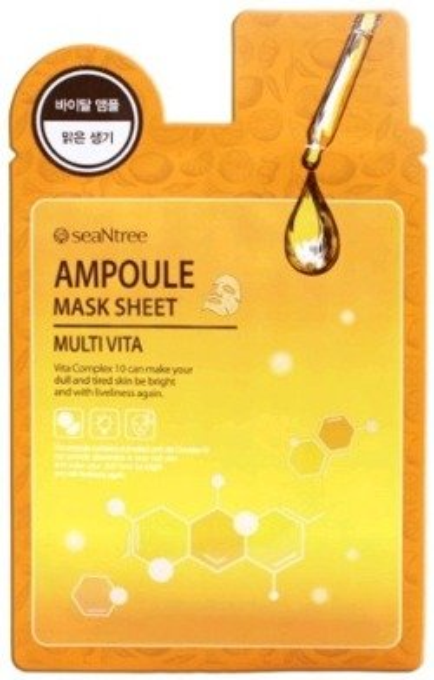 SeaNtree Ampoule Mask Sheet MULTI VITA Maska do twarzy w płachcie