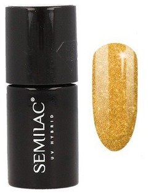 Semilac Sharm Effect Lakier hybrydowy 619 Gold 7ml